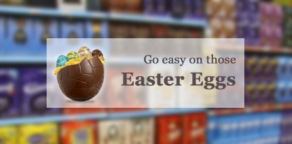 Go easy on those Easter Eggs!