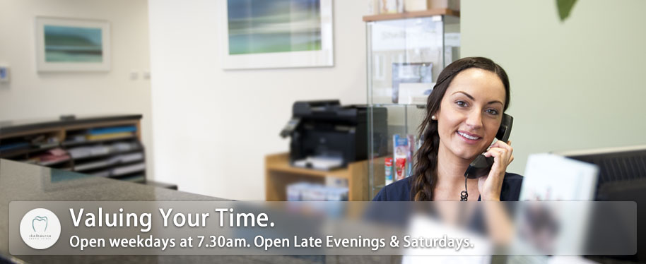 Opening Hours to suit you